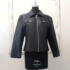 Rudsak Biker 90's Python Leather Jacket
